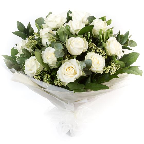 Picture Of A Dozen White Roses Best Rose 2018